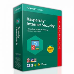 Kaspersky Internet Security 2018 (3 utilisateurs) 1 an