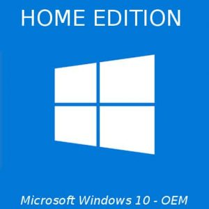 Microsoft Windows 10 Home Edition OEM