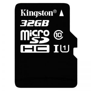 Kingston – Carte MicroSD 32 GB + Adaptateur SD