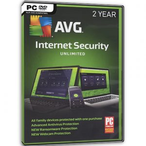AVG Internet Security Unlimited 2018 (2 ans)